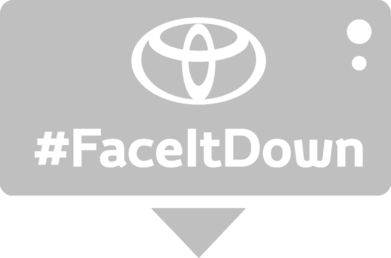 faceitdown grey logo