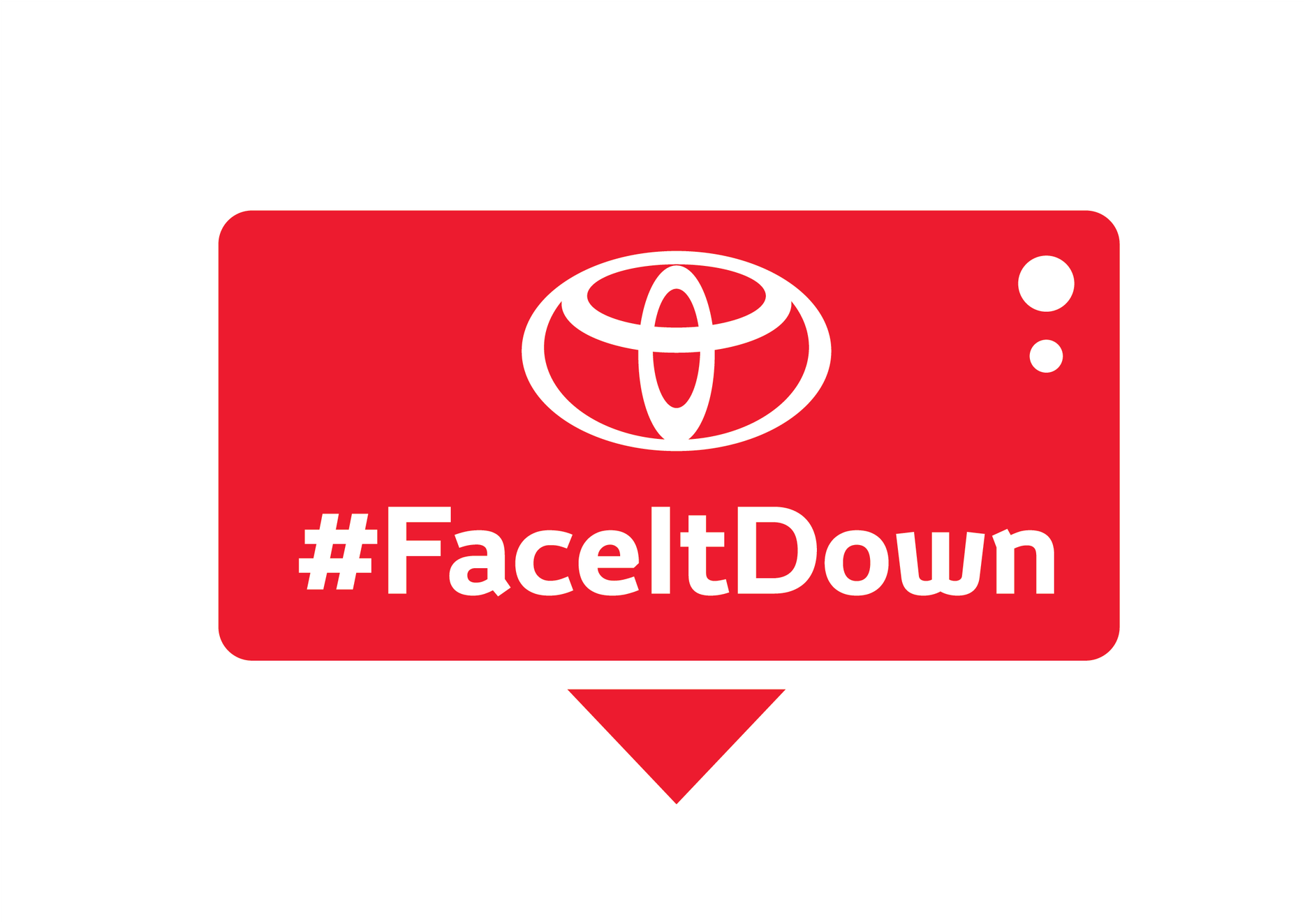 faceitdown color logo